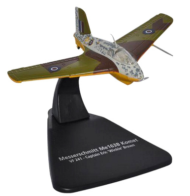 "Me163B Komet, VF241, Standard Version, Capitán Eric ""Winkle"" Brown, 1942, 1:72, Oxford"