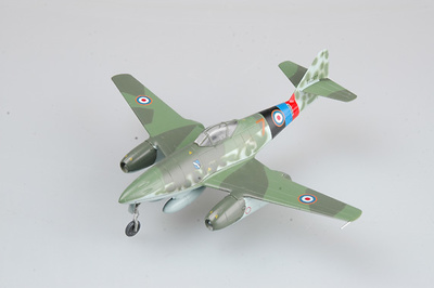 Me262 A-1a, Yellow 7, Lubeck, 1945, 1:72, Easy Model