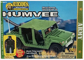 Mean green, Humvee, Blockmen