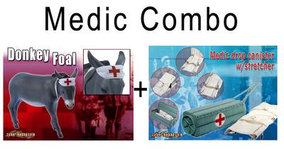 Medic Combo (71261+71307), 1:6, Dragon