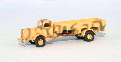 Mercedes Benz, 1940, 1:72, Wespe Models
