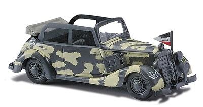 """Mercedes Benz 170V """"Stabsfahrzeug Panzerdivision"""", 1:87, Busch"""