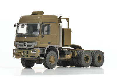 Mercedes Benz Titan 8x8, color verde, 1:50, Wsi Models