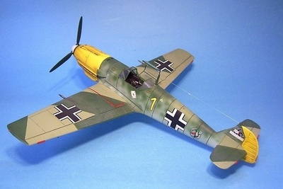 Messerchmitt BF-109E, 6./JG51, Otoño, 1940, 1:30, John Jenkins