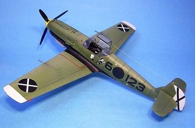 Messerchmitt BF-109E (6-123), Legion Condor, España, 1939, 1:30, John Jenkins