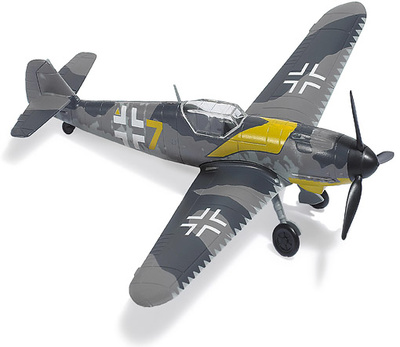 "Messerschmidt Bf109, "" Yellow 7"", 1:87, Busch"