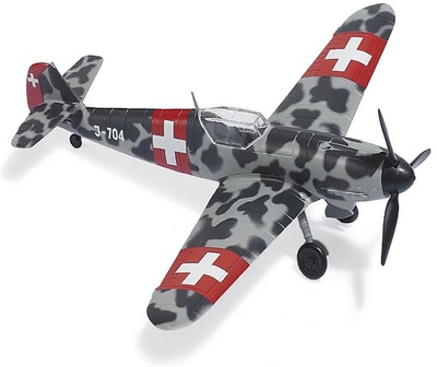 Messerschmidt Bf109 Swiss Air Force, 1:87, Busch