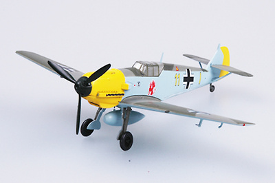 Messerschmitt BF-109E-1 9/JG26, 1:72, Easy Model