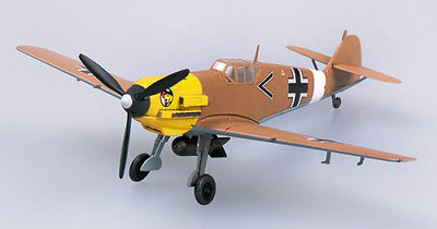 Messerschmitt BF-109E-7, Trop. 1./JG27, Libia, 1941, 1:72, Easy Model