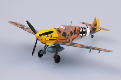 Messerschmitt BF-109E-7/TROP, 2/JG27, Libia, 1941, 1:72, Easy Model