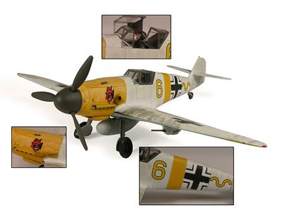 Messerschmitt BF-109F-2/F-4 - 7./JG 54, Russian Front 1942, 1:32, 21st Century Toys