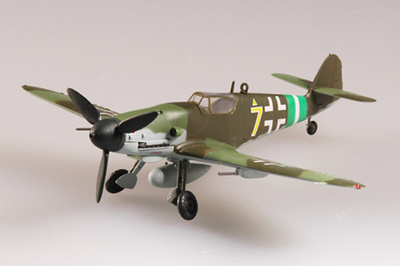 "Messerschmitt BF-109G-10, L/JG51, ""Yellow 7"", 1945, 1:72, Easy Model"