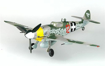 Messerschmitt BF-109G-10 Hungrian, 1945, 1:72, Easy Model