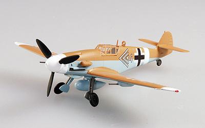Messerschmitt BF-109G-2 JG27, Túnez, 1943,1:72