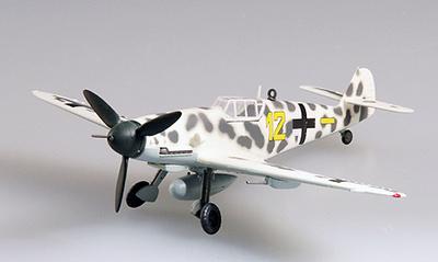 Messerschmitt BF-109G-2 VI. /JG5, 1943, Finlandia, 1:72, Easy Model
