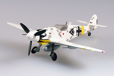 Messerschmitt BF-109G-6, I./JG53, Hungría, 1945, 1:72, Easy Model