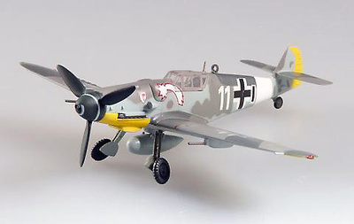 Messerschmitt BF-109G-6 VII. /JG3, Germany, 1944, 1:72, Easy Model