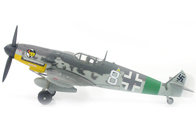 Messerschmitt BF-109G du 1./JG 27, 1:72, Witty Wings