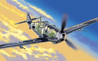 Messerschmitt  BF109 Gustav 6 JG3, 1:48, Franklin Mint