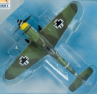 Messerschmitt BF109G-10, Croacia, 1945, 1:72, Easy Model