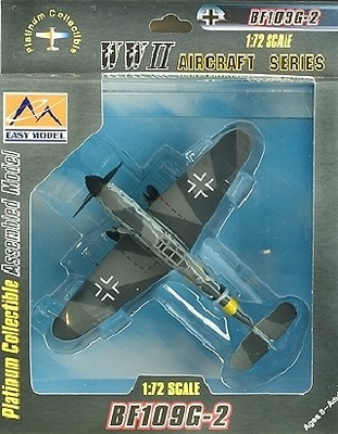 Messerschmitt BF109G-2, VI./JG52, Rusia, 1942, 1:72, Easy Model