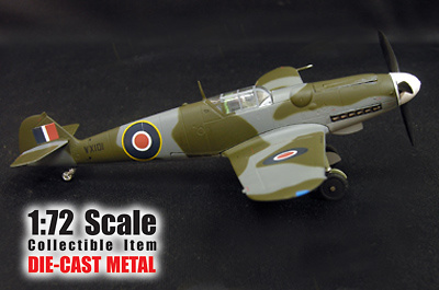 Messerschmitt BF109G-6, 9./ RAF VX 101, 1:72, Witty Wings