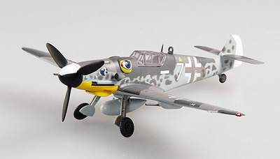 Messerschmitt BF109G-6, IV./JG51, 1943, Yugoslavia, 1:72, Easy Model