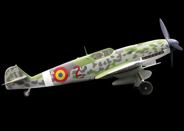 "Messerschmitt BF109G-6, ""Rumanian Air Force"", 1:72, Witty Wings"