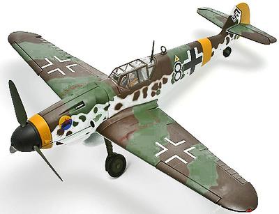 Messerschmitt BF109G-6 2./JG302, October 1944, 1:32, Corgi