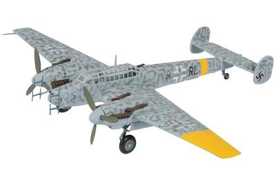 Messerschmitt BF110G-4/R6 Nightfighter, RAF Museum, Hendon, 1:72, Corgi