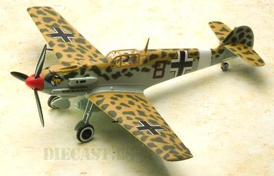 """Messerschmitt Bf 109E, Luftwaffe 8./JG 27, """"Black 8"""", Werner Schroer, 1:48, Carousel1"""