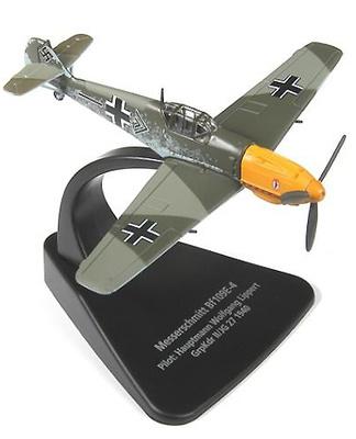 Messerschmitt Bf 109E-4, Capitán Wolfgang Lippert, Batalla de Inglaterra, 1940, 1:72, Oxford