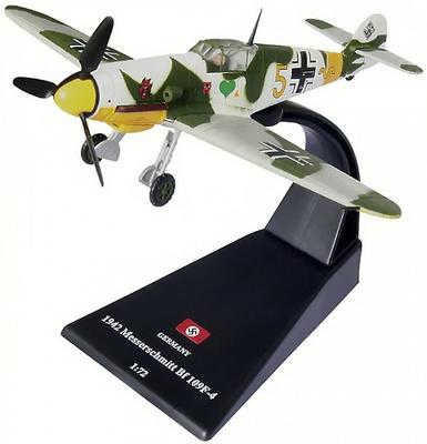 Messerschmitt Bf 109F-4, 1942, 1:72, Amercom