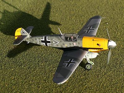 """Messerschmitt Bf 109F-4  """"Hans von Hahn"""", 1:72, Gemini Aces"""