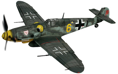 Messerschmitt Bf 109G, Luftwaffe III./JG 3, Germany, September 1943, 1:32, Forces of Valor
