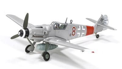 Messerschmitt Bf 109G-6 'Red 8', Oberleutnant Kurt Gabler, Mosquito Hunter, III./JG 300, 1:72, Corgi