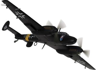 Messerschmitt Bf 110E-2 G9+LN, Oblt. Heinz-Wolfgang Schnaufer, 1942, 1:72, Corgi