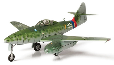 Messerschmitt ME 262, Lechfeld, Alemania, 1945, 1:72, Forces of Valor
