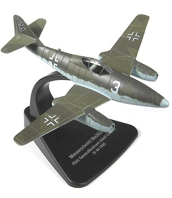 Messerschmitt ME 262, piloto Adolf Galland, 1945, 1:72, Oxford