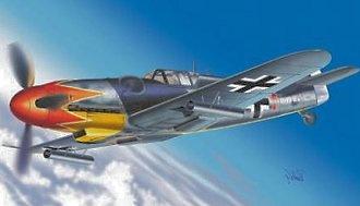 Messerschmitt Me 109 G5R2, Luftwaffe, 1:48, Franklin Mint