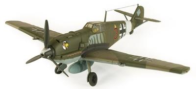 Messerschmitt Me-109E-4, Gazala, Libia 1941, 1:32, 21st Century Toys
