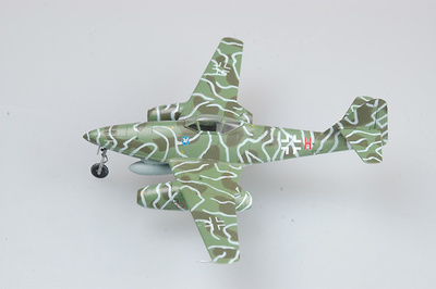 Messerschmitt Me 262A-1a, 9K+HN of 5.KG(J), pilotado por Witzmann, 1:72, Easy Model