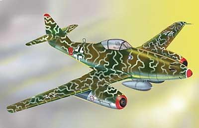 """Messerschmitt Me 262A Luftwaffe V./KG 51, """"Red B"""", 1:48, Franklin Mint"""