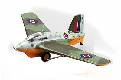 Messerschmitt Me163 B-1a, JG400, RAF, Capturado, 1:72, Easy Model