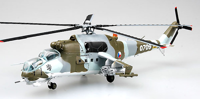 Mi-24 No.0709, Ejército del Aire de la República Checa, 1:72, Easy Model