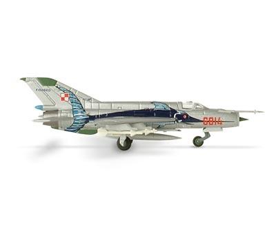 MiG-21MF Mikoyan , Polish Air Force 3. ELT 45th Anniversary, 1:200, Herpa