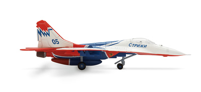 MiG-29, Russian Air Force, Strizhi Aerobatic Team Mikoyan Gurevich, 1:200, Herpa