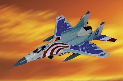 MiG-29 Fulcrum, Farewell USA, 2003, 1:48, Franklin Mint