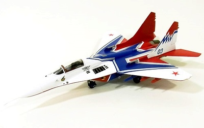 """MiG-29 """"Strizhi"""" Russia Air Force 03 Blue, 1:72, Witty Wings"""