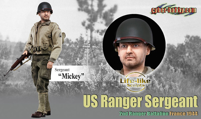 Mickey (Sergeant), US Ranger Sergeant, 2nd Ranger Battalion France 1944, 1:6, Dragon Figures